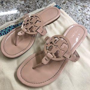 Tory Burch Seashell Pink Miller Sandals